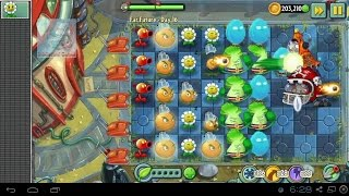 [Lived 08/02/14] Part 3 Marigold and FirePeaShooter Plants vs zombies 2 Dark Ages