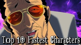 Top 10 Fastest One Piece Characters
