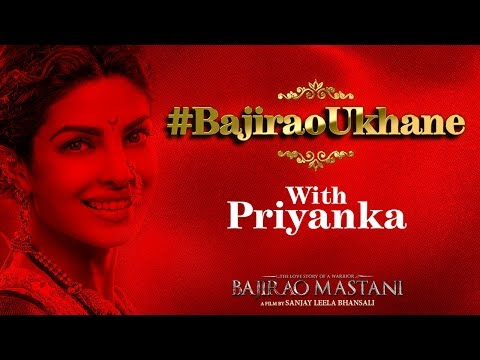 Express Your Love & Participate In The #BajiraoUkhane Contest With Priyanka Chopra