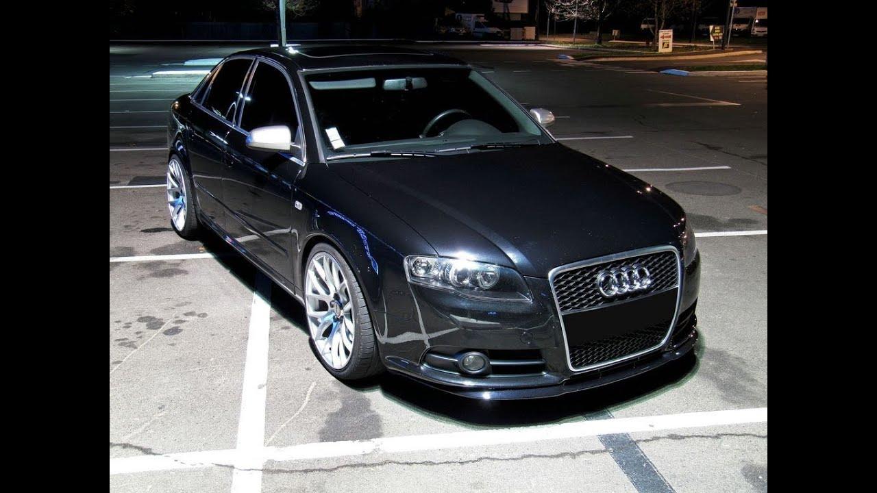 Audi A4 3 0tdi Sound Lapped Exhaust Inox Youtube
