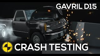 Gavril D15 IIHS/EuroNCAP Crash Testing - Frontal, Roof, Side & Rear [HD]