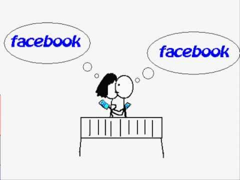 Facebook Obsession - Facebook parody (facebook paint animation)