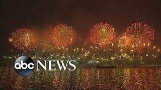 Hong Kong, China Celebrates the Start of 2018