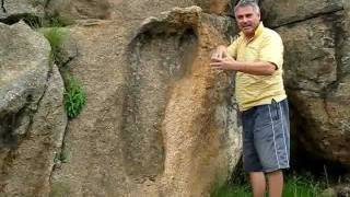 AMAZING: Giant Footprint Found!!! Biblical Nephilim??