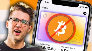 The Apple Card can't buy crypto??