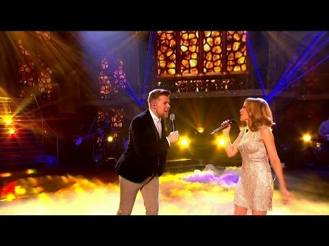 Kylie Minogue & Jamie Johnson sing 'There Must Be an Angel' - The Voice UK 2014: The Final - BBC