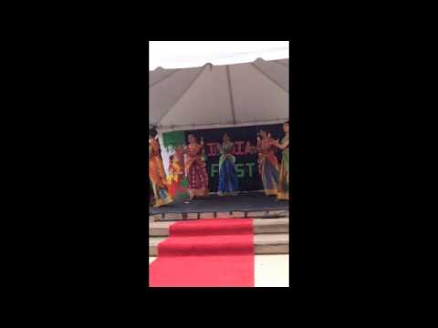 South Indian Style Girls Dance: IUCA India Fest 2013