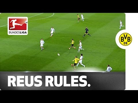 Marco Reus With a Goal and a World-Class Assist