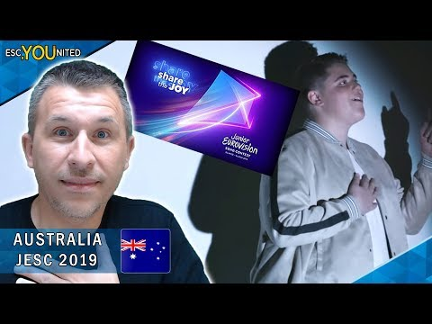 AUSTRALIA: Jordan Anthony - We Will Rise | Junior Eurovision 2019 - REACTION