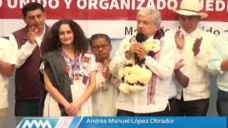 Presenta AMLO a Susana Harp como Coordinadora de Organización Estatal de Morena streaming