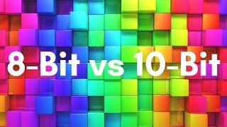Color Depth: 10-Bit vs 8-Bit in Under 5 Minutes