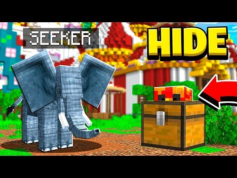 $10,000 Dumbo MINECRAFT Hide and Seek CHALLENGE! (MCPE)