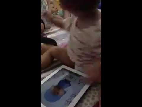 Baby play talking pocoyo