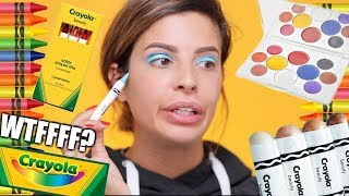 CRAYOLA MAKEUP | HIT OR MISS?