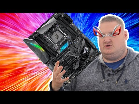 ASUS ROG STRIX X299-E GAMING Motherboard Review - Performance, VRM & i9-7900X Benchmarks