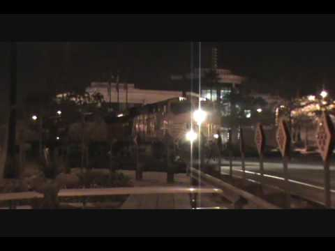 BNSF Loaded SLAB Train Highballs Pier A Yard Video