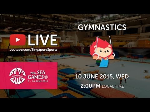 Gymnastics Artistic (Day 5)   28th SEA Games Singapore 2015