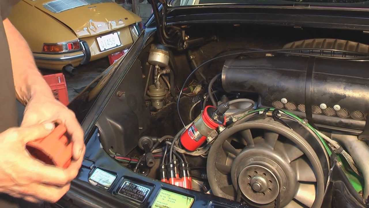 How To Check Spark Plugs >> Porsche Valve Adjusting, Oil Chg, New Plugs Cap & Rotor - DIY German Aircooled Garage #5 - YouTube