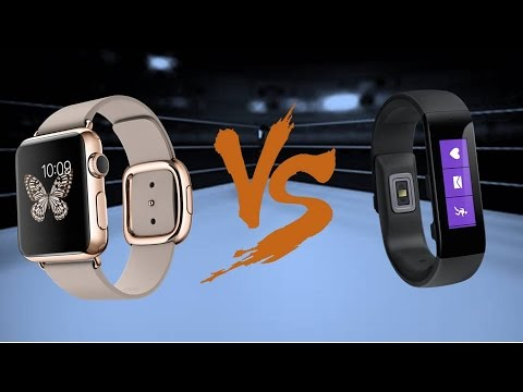 Apple Watch vs. Microsoft Band
