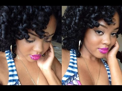 Natural Hair   DEFINED Flat Twist & Curl
