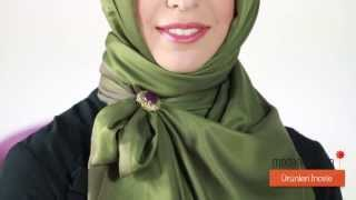 Modanisa.com - How to Wear Hijab? - Model 12 -  2014 Şal Bağlama Modelleri - 2014 Hijab Tutorials