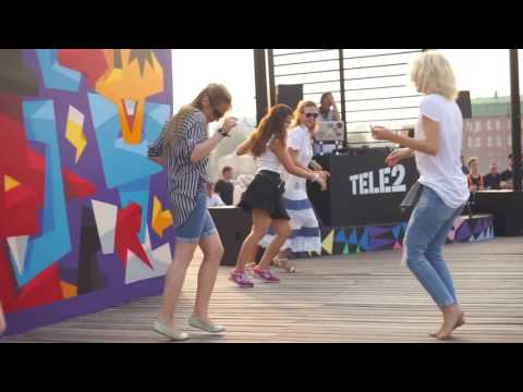 Музеон - Танцы на набережной - Открытая дискотека 24 июля
