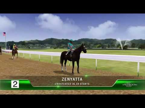 Horse Racing's Best Game | Zenyatta Vs The Best Fantasy Race