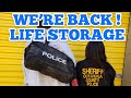 POLICE UNIT AT LIFE STORAGE I Bought Abandoned Storage Unit Locker At Auction Opening Mystery Boxes