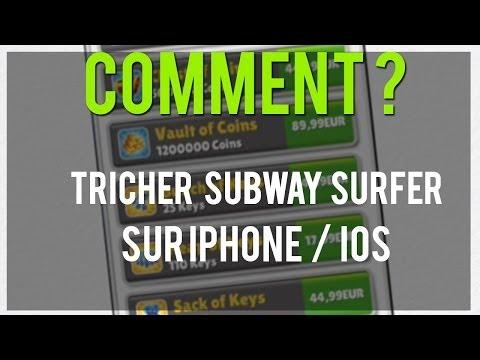 Tricher à Subway Surfer ARGENT ILLILITE CLES ILLIMITES