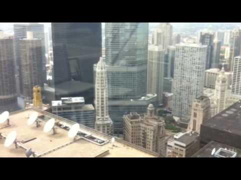 Transformers 3 helicopter filming at Trump Chicago