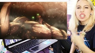 ATTACK ON TITAN 1x13 REACTION & REVIEW!!!