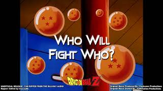 Dragonball Z - Episode 214 - Who Will Fight Who - (Part 1) - [Faulconer Instrumental]
