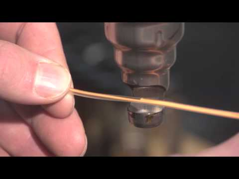 Welding Loops in Fly Fishing Lines - Cross Current TV - Episode 8