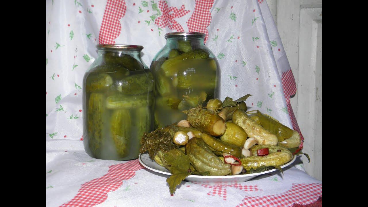 Огурцы бочковые рецепт в кастрюле