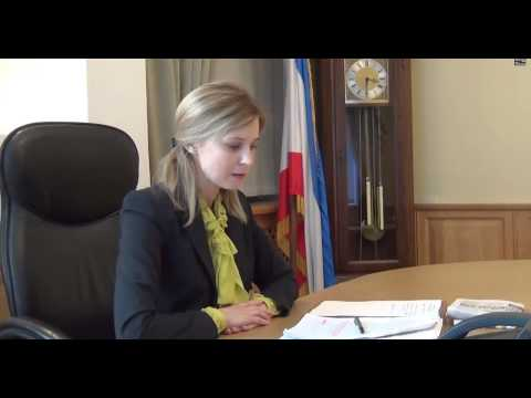 Natalia Poklonskaya interview eng sub