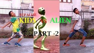 "Nepalese Kids vs Alien ""Part 2"" || Dame Tu Cosita Dance Challenge 2018 | ASquare Crew"