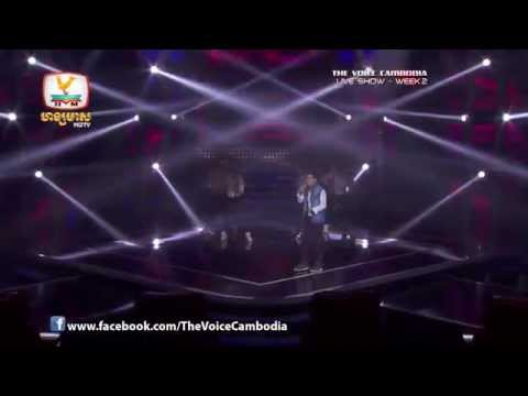 The Voice Cambodia - Live Show 2 - Happy - Vichet Darama