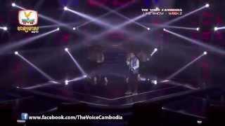 The Voice Cambodia - Live Show 2 - Happy - វិចិត្រ ដាម៉ារ៉ា