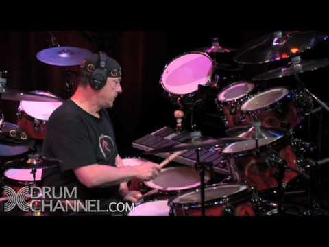 "Neil Peart Drum Solo - DrumChannel.com - ""More Cowbell!"""