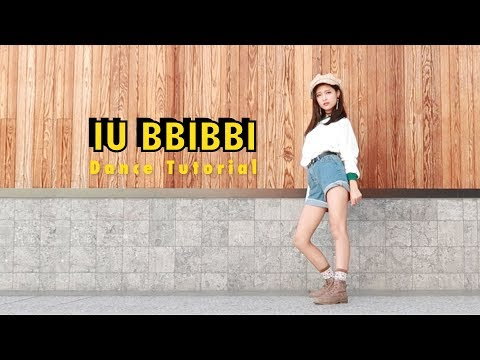 IU Bbibbi Dance Tutorial Mirrored