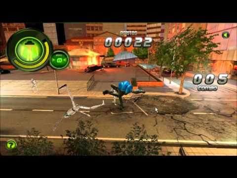 Ben 10 Supremacia Alienígena-Crise Suprema Gameplay