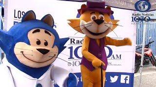 Don Gato y Benito Bodoque en Radio Noticias 1070