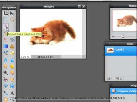 как сделать изображение прозрачным: