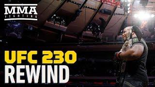 UFC 230 Rewind: Daniel Cormier Submits Derrick Lewis, Makes History at MSG