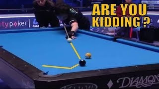 ARE YOU KIDDING ME ? 9Ball US Open - Pro's missing shots (part 1)