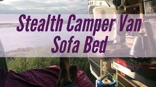 Stealth Camper Van Sofa Bed