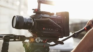Professional Video Camera Shoulder Rig|Blackmagic Ursa Mini Cameras|Camtree Hunt|Test Shots