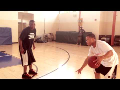 ADRIEN BRONER PLAYS TY LAWSON IN 3 ON 3 BASKETBALL GAME