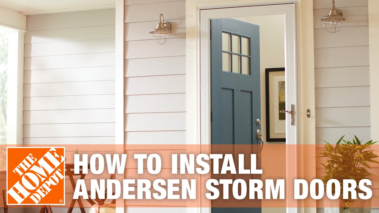 Andersen storm doors youtube for Rollaway screen door parts
