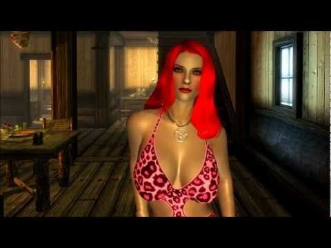 The Elder Scrolls V: Skyrim - Al3d Hot Dress Mod